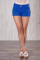 Модные женские шортики из костюмной ткани