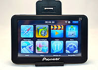 GPS навигатор Pioneer 556, навигатор автомобильный Pioneer, gps навигатор 5 дюймов, навигатор пионер