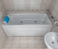 Ванна акриловая Тритон Берта 1700х700х680   (ванна + каркас + лиц.экр. + слив-перелив)