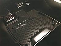 Acura MDX 2017 коврики резиновые передние задние новые оригинал