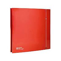 Вытяжной вентилятор Soler&Palau SILENT-200 CZ RED DESIGN - 4C (230V 50)