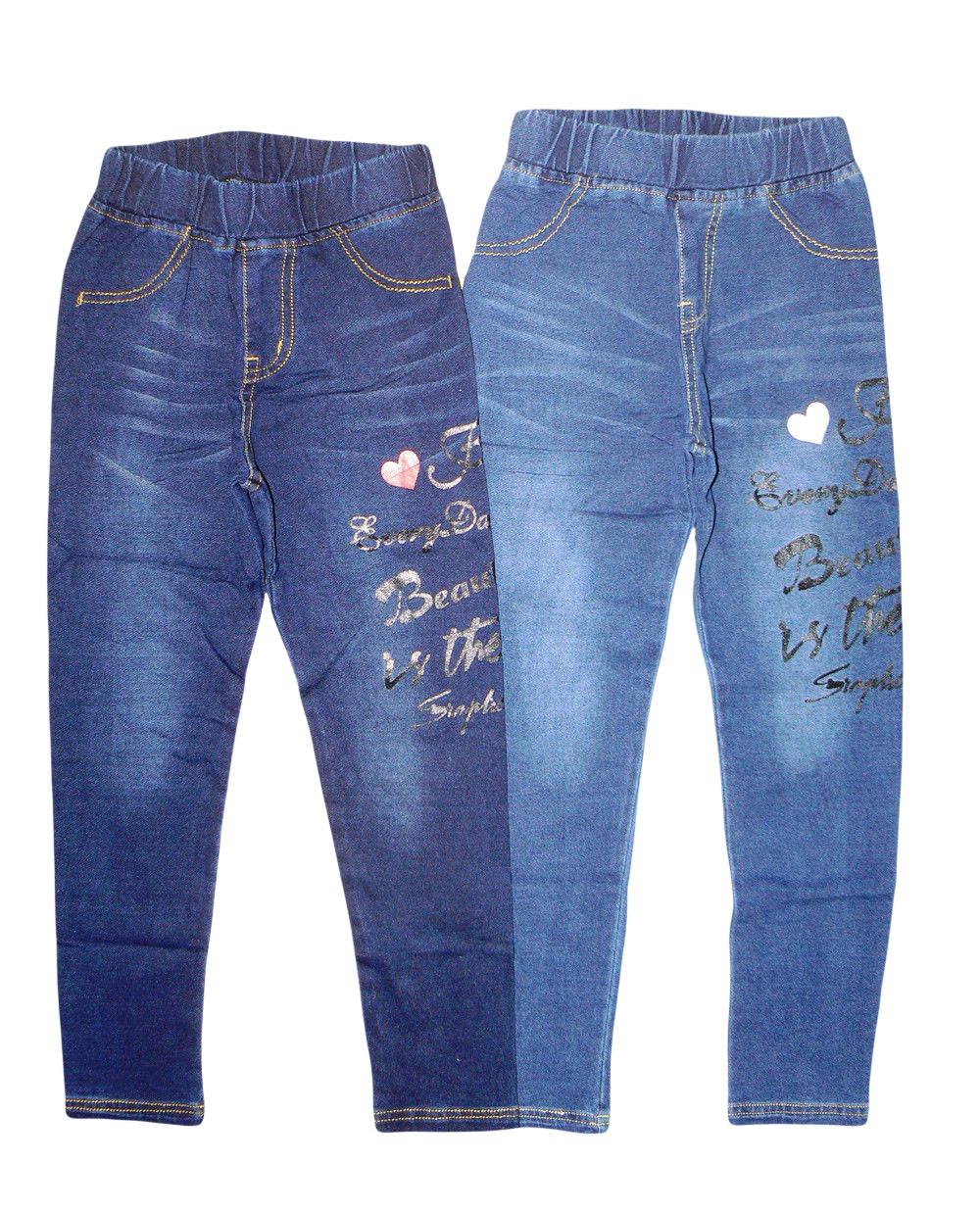 Лосины для девочки под джинс, Grace, размеры 122,  арт. G-60584