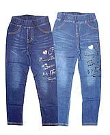 Лосины для девочки под джинс, Grace, размеры 122,128,  арт. G-60584