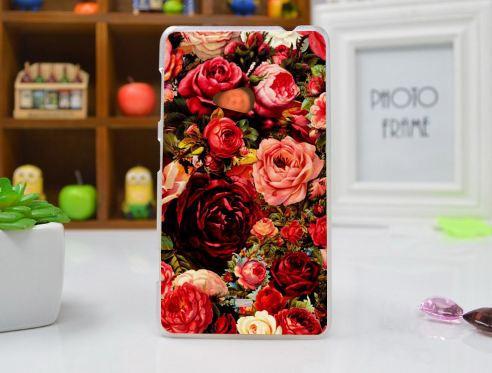 Чехол бампер для Nokia Lumia 625 с картинкой Розы