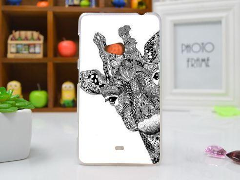 Чохол бампер для Nokia Lumia 625 з картинкою Жираф