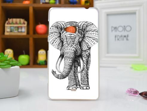 Чохол бампер для Nokia Lumia 625 з картинкою Слон