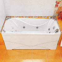 Ванна акриловая Тритон Вики 1600х750х720 (ванна + каркас + лиц.экр. + слив-перелив)