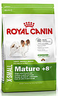 Корм для пожилых собак мини-пород Royal Canin X-Small Mature +8