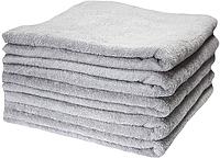 Набор махровых полотенец 70х140 -5шт. LOTUS  Basic  серое, фото 1