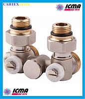 Двухтрубный вентиль для панельного радиатора ICMA 903