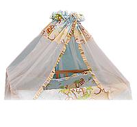 Балдахин-вуаль для детской кроватки