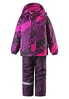 Зимний костюм для девочек Lassie by Reima 723693B - 4981. Размер 104 - 140.
