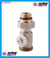 Однотрубный  вентиль для панельного радиатора ICMA 916