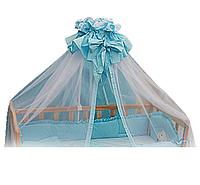 Балдахин для детской кроватки сетка