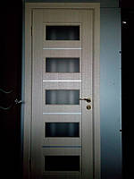 "Дверь межкомнатная ""Роксана"" глухая, дуб английский, фото 1"