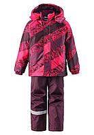 Зимний костюм для девочек Lassie by Reima 723693B - 3521. Размер 92 - 128.