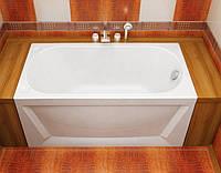 Ванна акриловая Тритон ЛУ-ЛУ 1300х700х575  (ванна + каркас + лиц.экр. + слив-перелив)