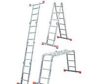 Шарнирная лестница-стремянка KRAUSE MultiMatic 4x4 ступеней