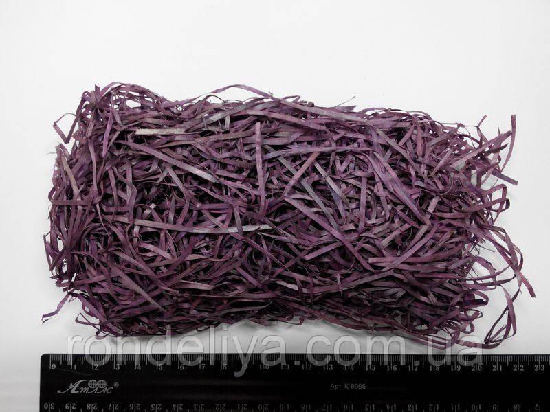 Древесный наполнитель флористический фиолетовый