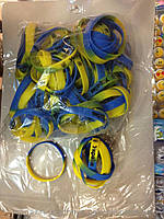 Браслет резиновый символика Украины
