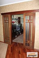 Двери деревянные раздвижные