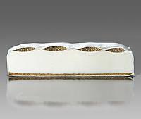 Матрас в детскую кроватку (гречка -поролон- кокос 9 см) толстый