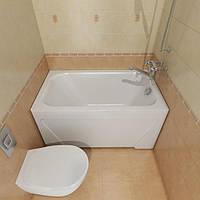 Ванна акриловая Тритон Лиза 1200х700х610 (ванна + каркас + лиц.экр. + слив-перелив)