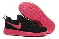 Nike Roshe Run Black Pink