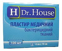 Лейкопластырь Dr.House бактерицидный тканевая основа 4*10 см