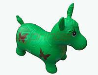 Надувная игрушка-попрыгунчик лошадь (зеленый).