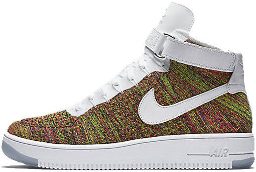 8323be26 Мужские Кроссовки Nike Air Force 1 Ultra Flyknit Mid Volt White — в ...