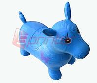 Надувная игрушка-попрыгунчик лошадь (синий)