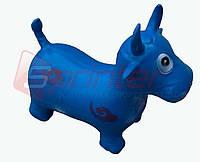 Надувная игрушка-попрыгунчик корова (синий)