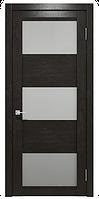 """Шпонированные межкомнатные двери """"Франк ПОО"""", цвет венге"""