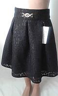Детские юбки из гипюровой ткани.