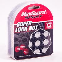 Комплект гаек (секретки) Max Guard Hn15-2B Конус (M12x1.5x32) Хром