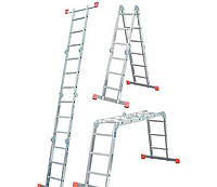 Шарнирная лестница-стремянка KRAUSE MultiMatic 5х4+4x5 ступеней