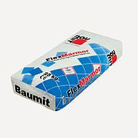 Baumit FlexMarmor белая эластичная клеящая смесь для приклеивания плитки из природного и искусственного камня