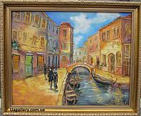 Авторская картина маслом «Вечерняя Венеция 1»