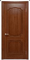 """Шпонированные межкомнатные двери """"Луидор ПГ"""", цвет темный орех"""
