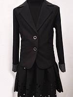 Школьный костюм для девочки двойка  № 0320