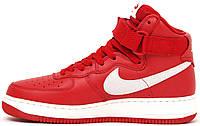 Мужские кроссовки Nike Men's Air Force 1 High Retro QS Gym Red, найк аир форс
