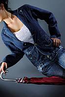 Пиджак мододежный джинсовый