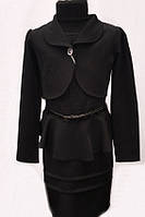 Школьный костюм для девочки двойка  № 0350