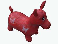 Надувная игрушка-попрыгунчик лошадь (красный)