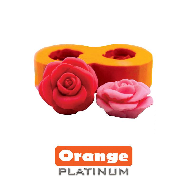 Силикон Platinum Orange 12 ШорА (Платинум Оранж) - очень жидкий,мягкий для тонкого рельефа. Уп.1 кг