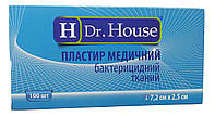 Лейкопластырь Dr.House бактерицидный тканевая основа 7,2*2,5 см