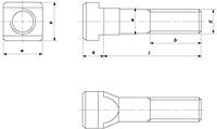 ВИНТ DIN 787 (ISO 299)