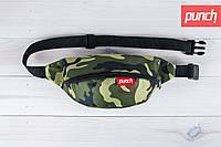 Сумка для путешествий, поясная сумка, PUNCH, Camo, бананка, компактная сумка, сумка туриста