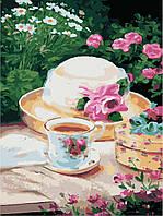 """Картина по номерам """"Пикник в саду"""" 30*40см"""